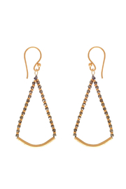 Bronwen Crescendo Earrings - Front cropped