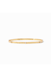 Julie Vos CRESCENT BANGLE-ZIRCON/LARGE - Product Mini Image