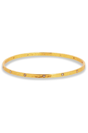 Julie Vos CRESCENT BANGLE-ZIRCON/SMALL - Product Mini Image