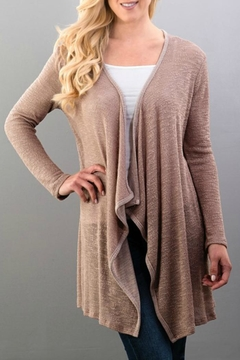 Shoptiques Product: Cardigan With Lace
