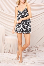 crescent Gloria Satin Animal Print Pj Set (Comes In Black And Brown) - Product Mini Image