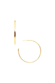 Julie Vos CRESCENT HOOP GOLD- MEDIUM - Product Mini Image