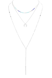 Wild Lilies Jewelry  Crescent Layered Lariat - Product Mini Image