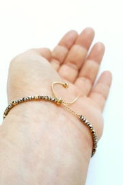 Simply Chic Crescent Moon Bracelet - Side cropped