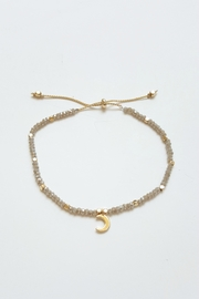 Simply Chic Crescent Moon Bracelet - Front cropped