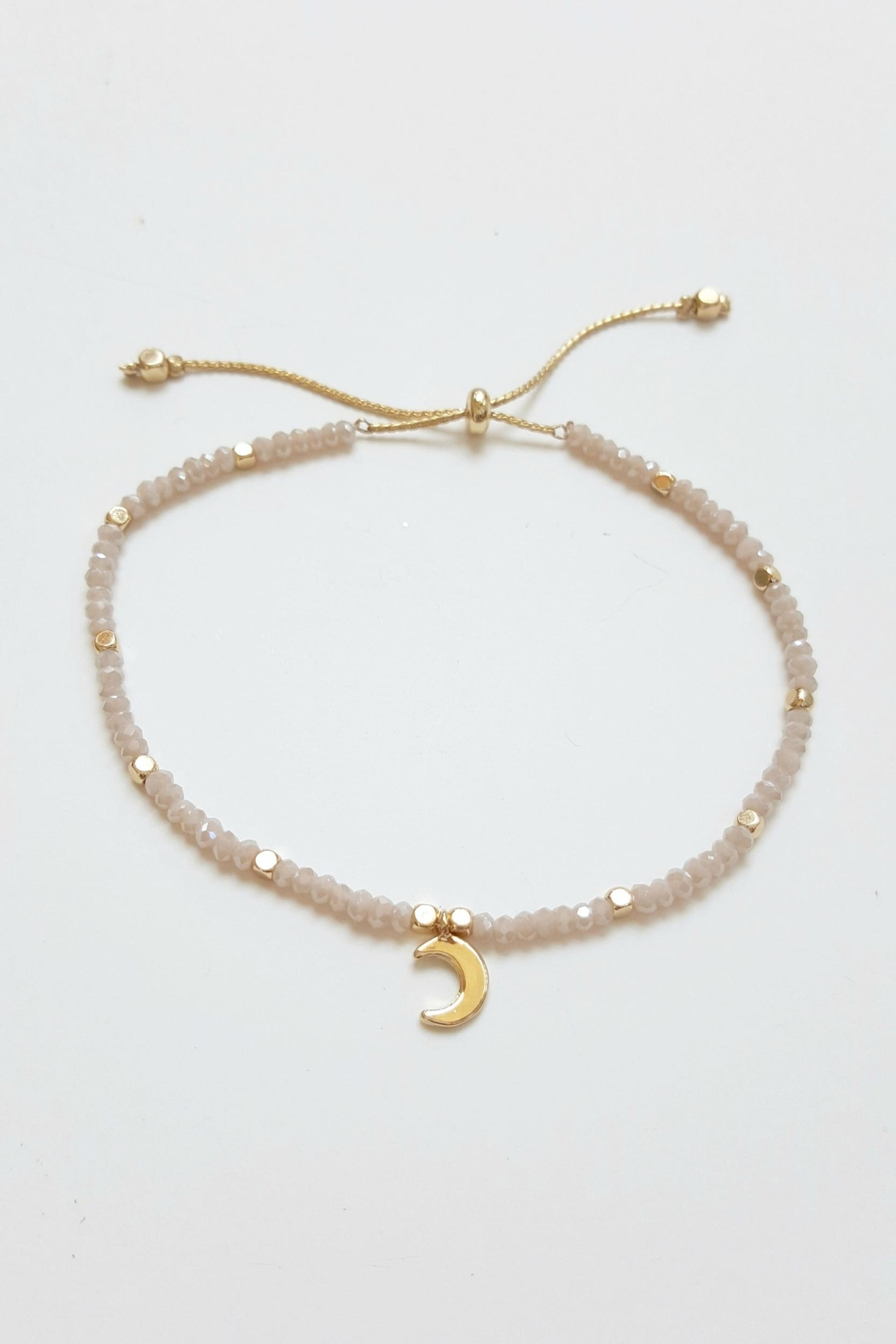 Simply Chic Crescent Moon Bracelet - Main Image