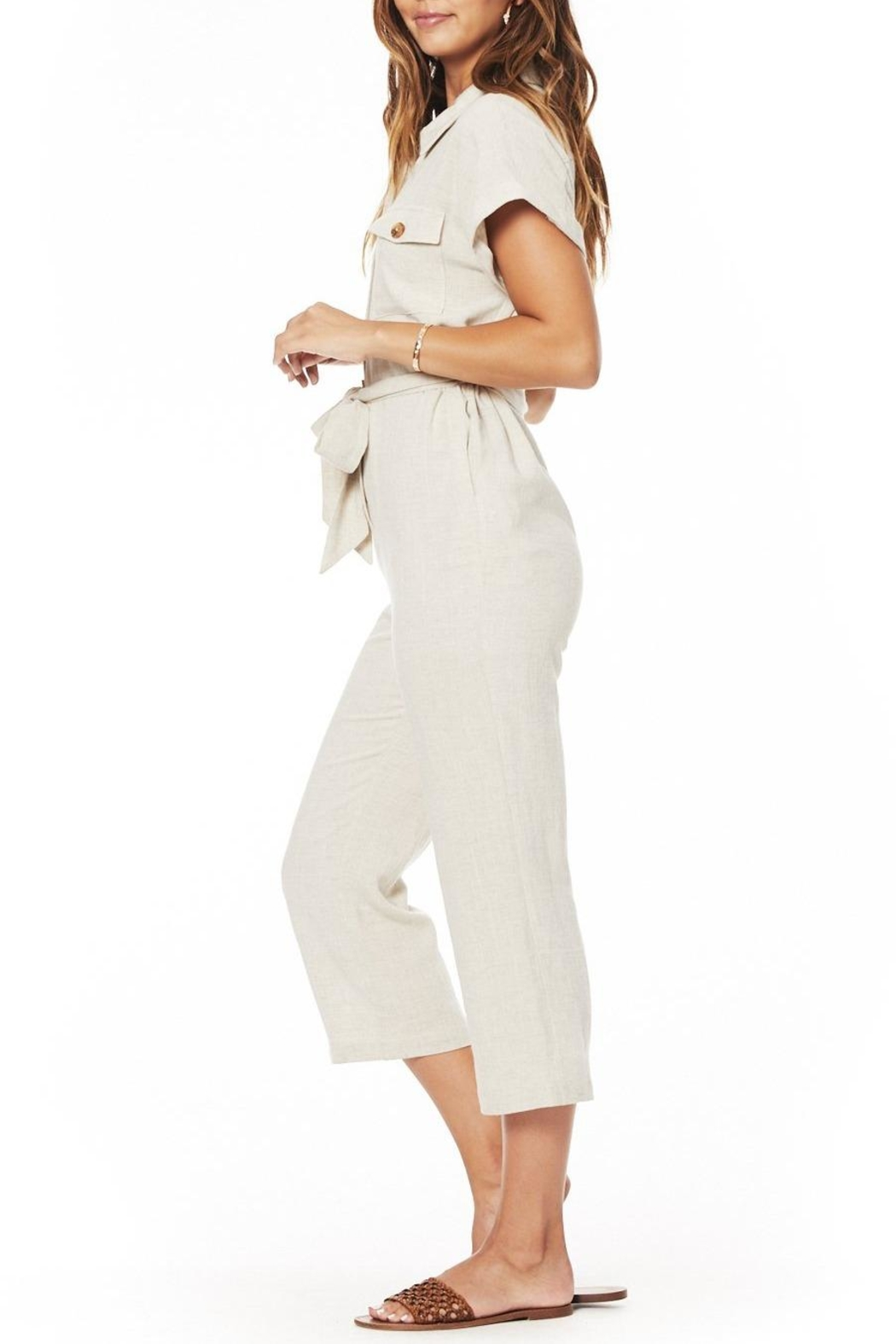 Lost + Wander Crescent Moon Jumpsuit - Side Cropped Image