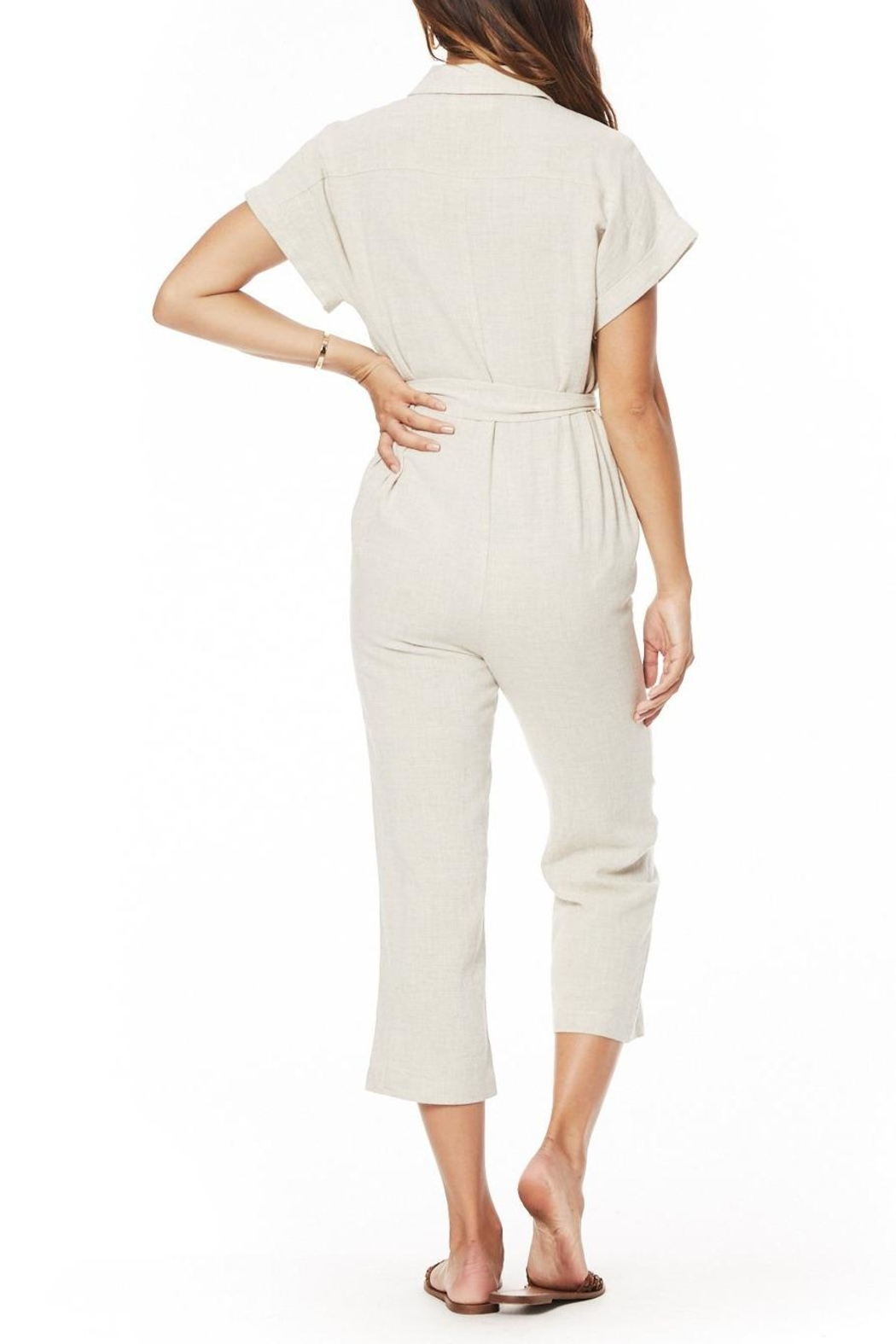 Lost + Wander Crescent Moon Jumpsuit - Back Cropped Image