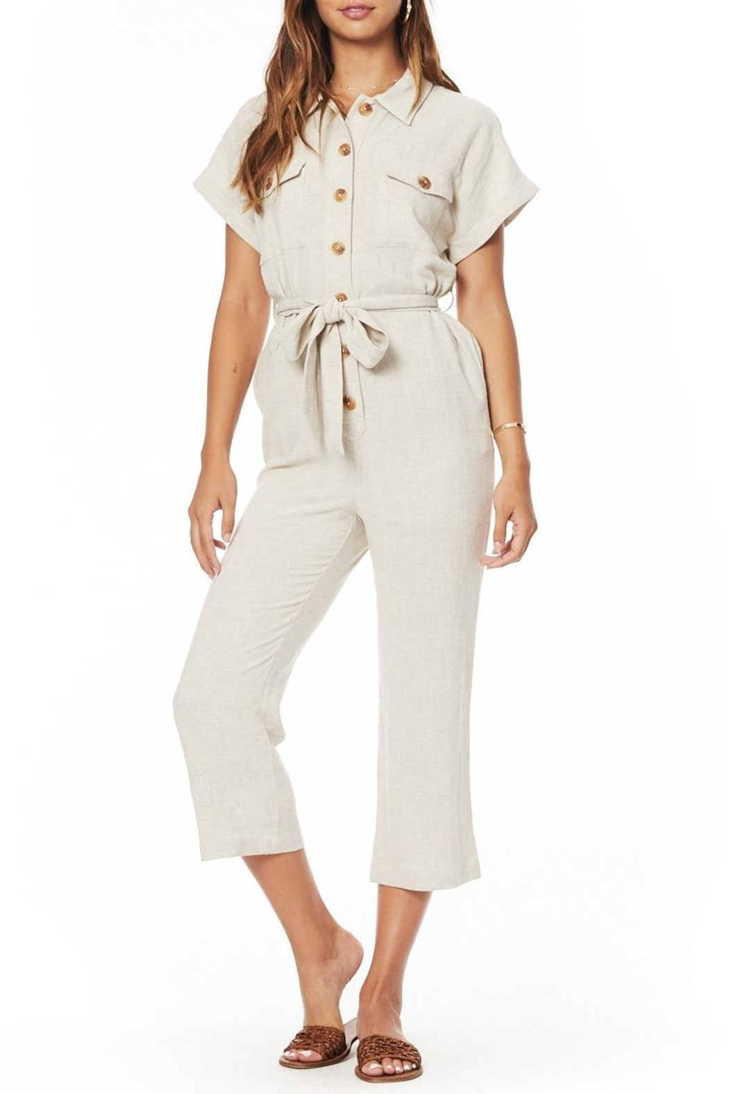 Lost + Wander Crescent Moon Jumpsuit - Front Full Image