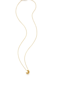 Amano Trading Crescent Moon Necklace - Alternate List Image