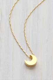 Amano Trading, Inc. Crescent Moon Necklace - Product Mini Image