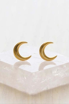Amano Trading, Inc. crescent moon stud earrings - Product List Image