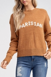 crescent Parisian Knit Sweater - Product Mini Image