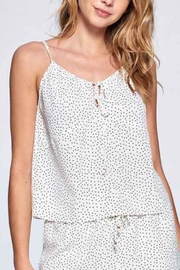 crescent Pindot Cami - Side cropped