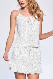 crescent Pindot Cami - Front full body