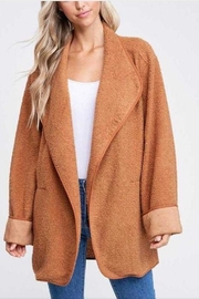 crescent Teddy Wrap Jacket - Product Mini Image