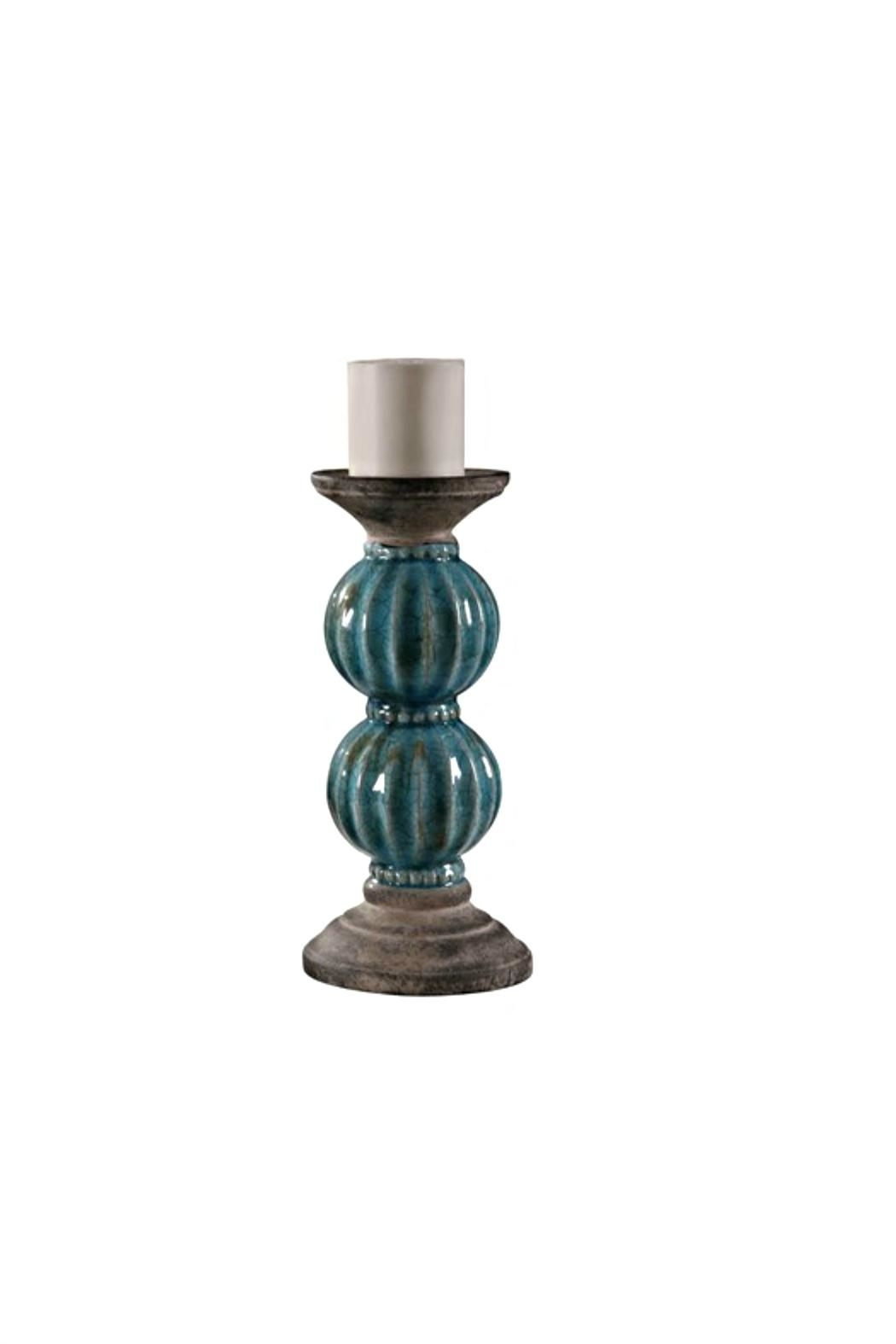 Crestview Collection Large Lexa Candle Holder - Main Image