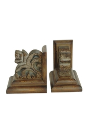 Crestview Collection Lowell Bookend Pair - Front cropped