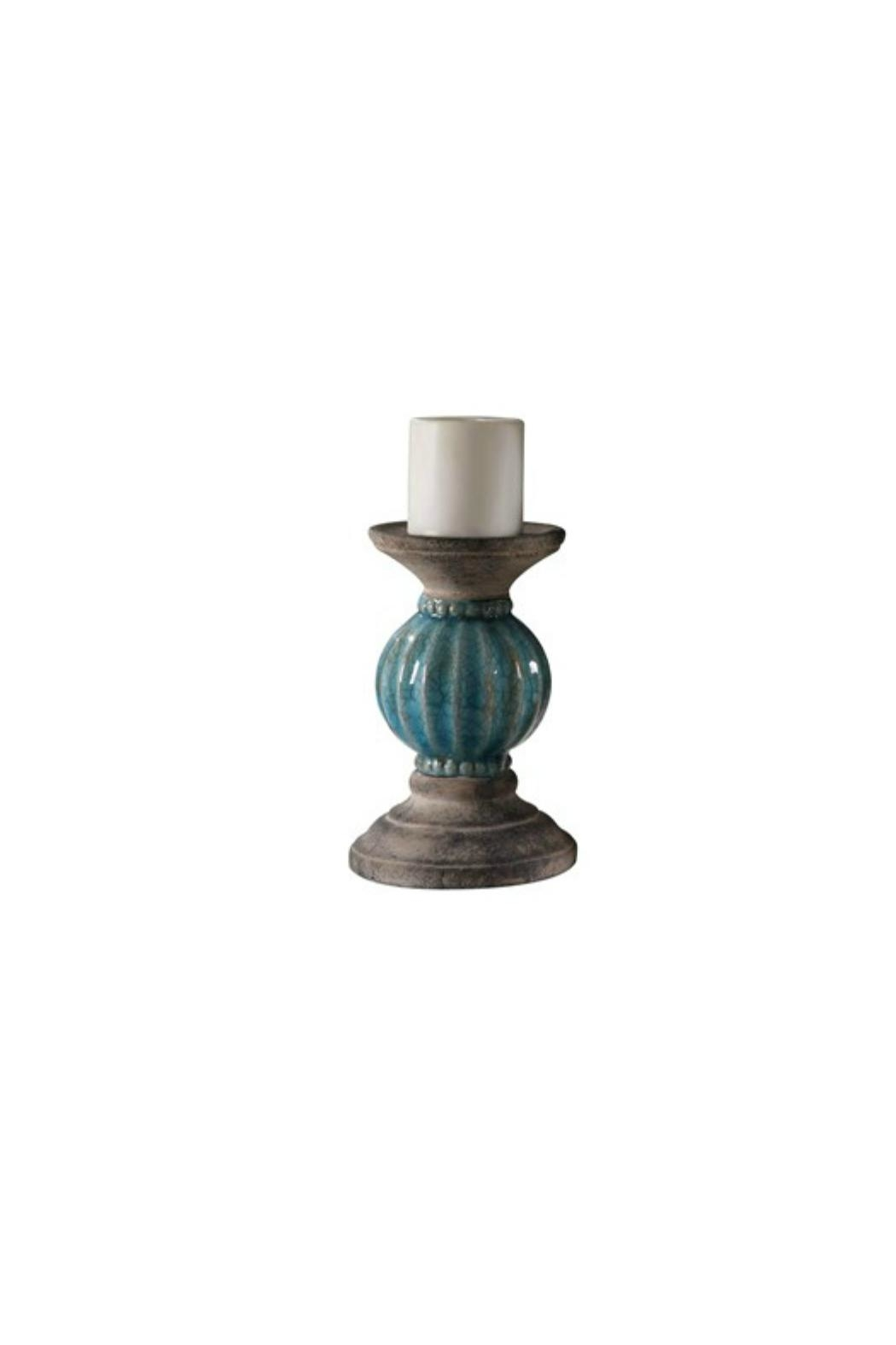 Crestview Collection Small Lexa Candle Holder - Main Image
