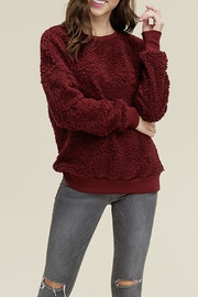 Staccato Crew-Neck Fleece Pullover - Product Mini Image