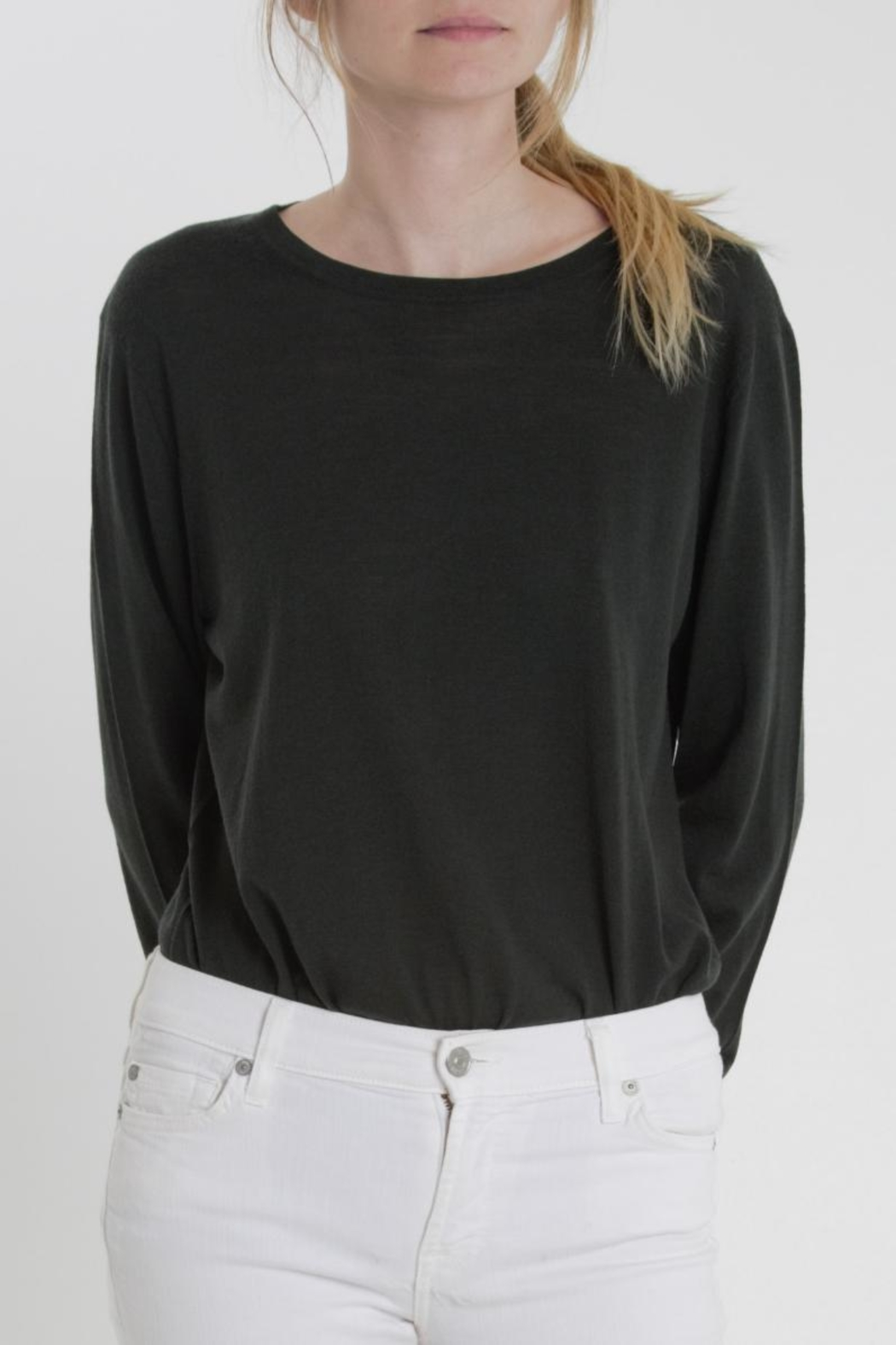 Thread+Onion Crew Neck Knit - Front Cropped Image