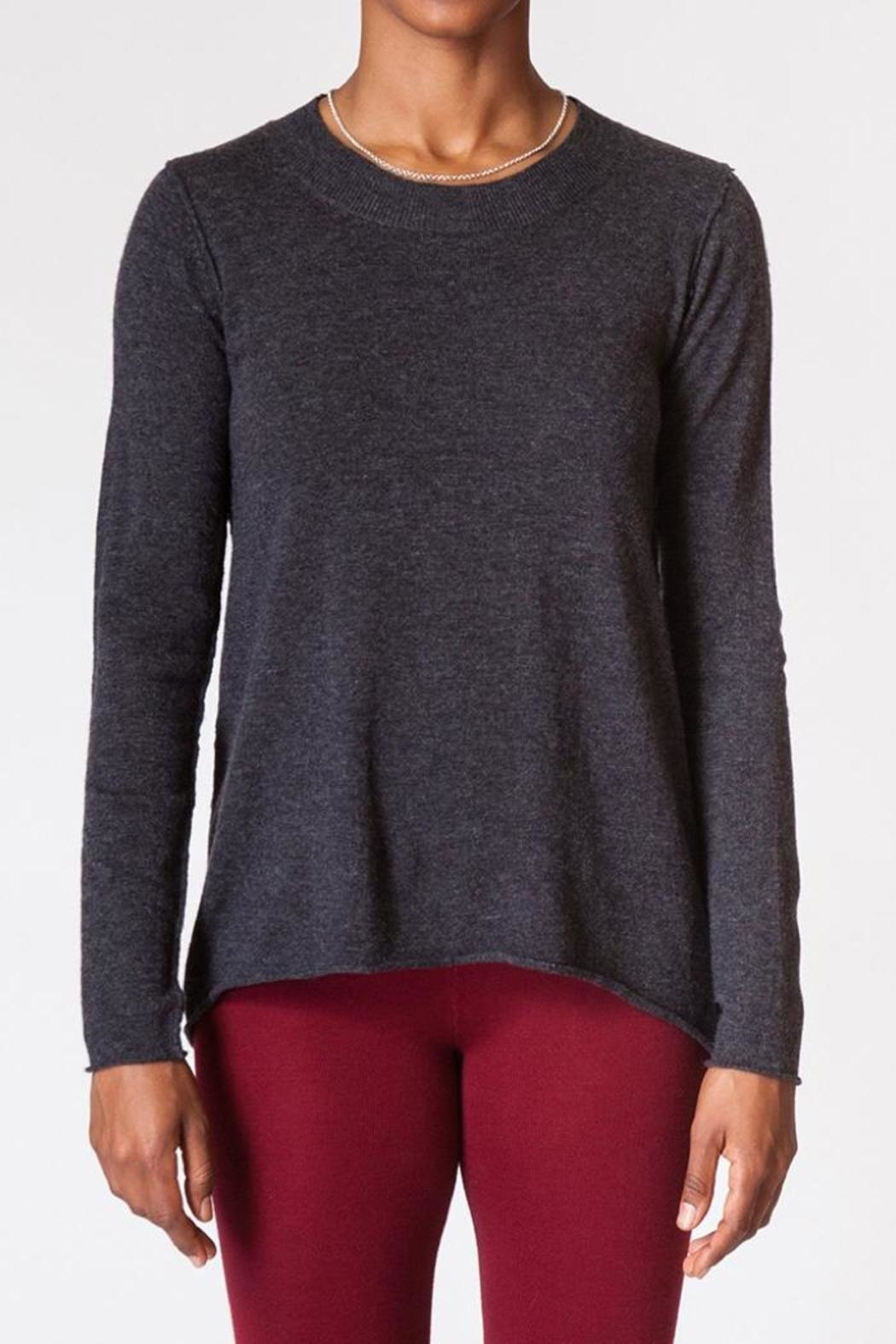 Kerisma Crew-Neck Knit Sweater - Back Cropped Image