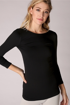 Nikibiki Crew Neck Plain Jersey Top - Product List Image