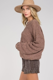 Unknown Factory Crew Neck Sweater - Front full body