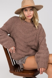 Unknown Factory Crew Neck Sweater - Side cropped