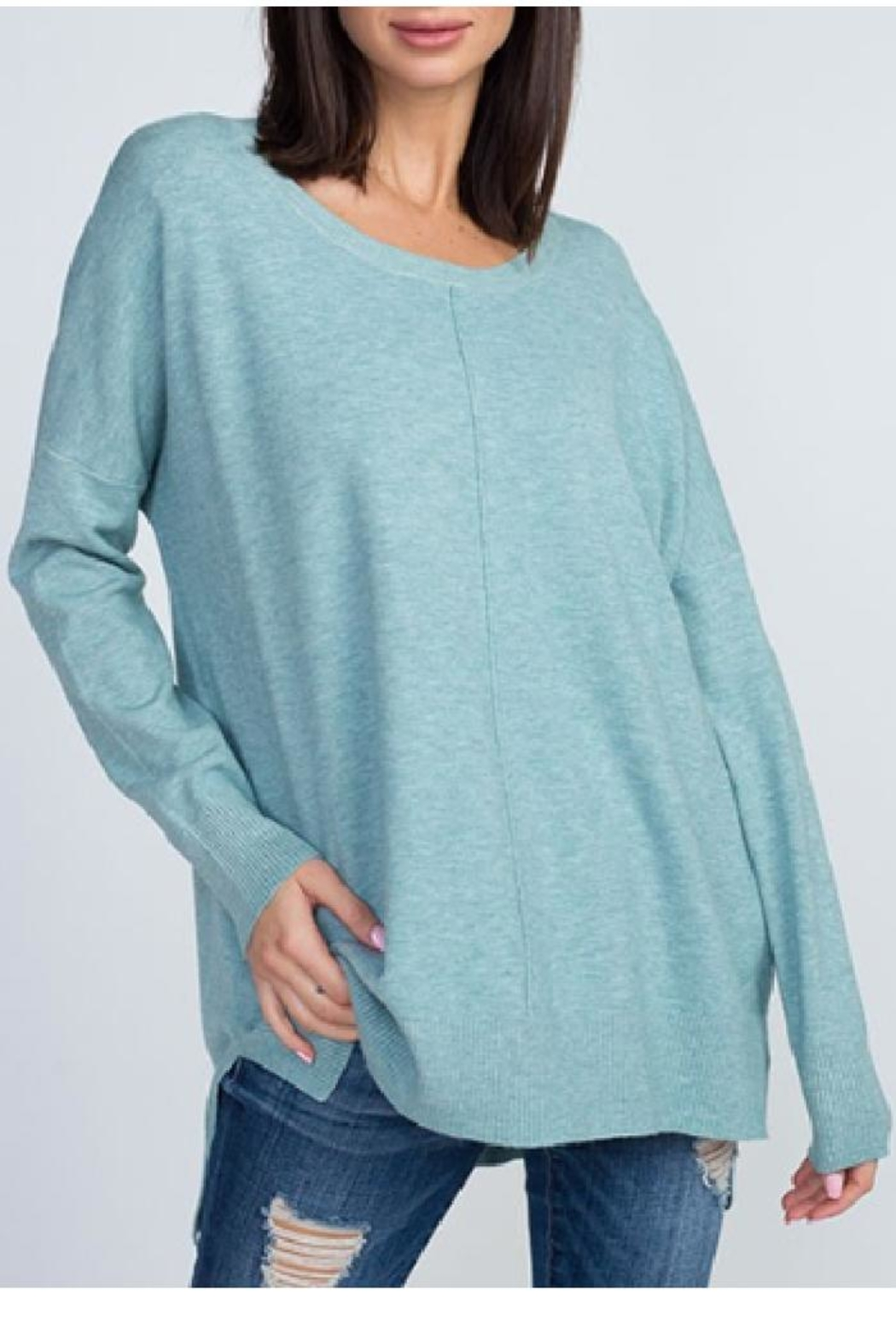 8bd2ee4925e2 Dreamers Crew Neck Sweater from Oregon by Patina Soul — Shoptiques