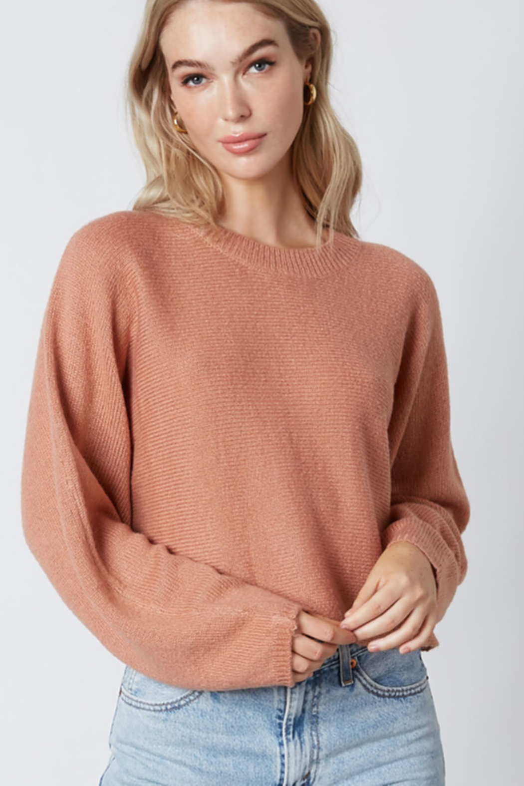 Cotton Candy  Crew Neck Sweater - Main Image