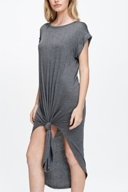 Jolie Crewneck T-Shirt Dress - Front cropped