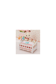 Calico Critters Crib With Mobile - Front full body