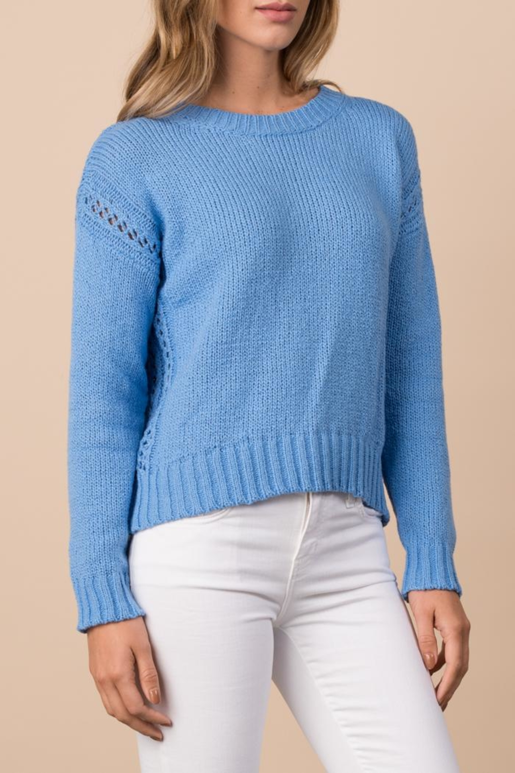 Margaret O'Leary Crimped Cotton Pullover - Main Image