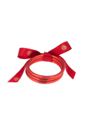 The Birds Nest CRIMSON ALL WEATHER BANGLES - Product Mini Image