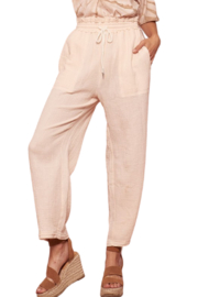 A Beauty by BNB  Crinkle Cotton Trouser - Product Mini Image