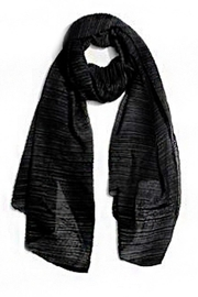 Nadya's Closet Crinkle Fashion Scarf - Front cropped