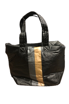 Shoptiques Product: Crinkled Stripe Tote