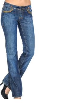 Shoptiques Product: Crinkly Wash Jeans