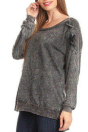 T Party Cris Cros Shoulder Sweatshirt - Product Mini Image