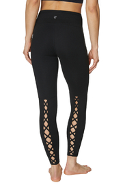 Betsey Johnson Criss Cross Back Cutout 7/8 Legging - Product Mini Image