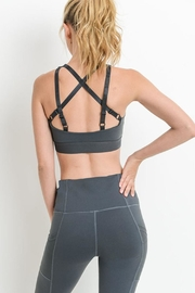 Mono B Criss-Cross-Back Sports Bra - Product Mini Image