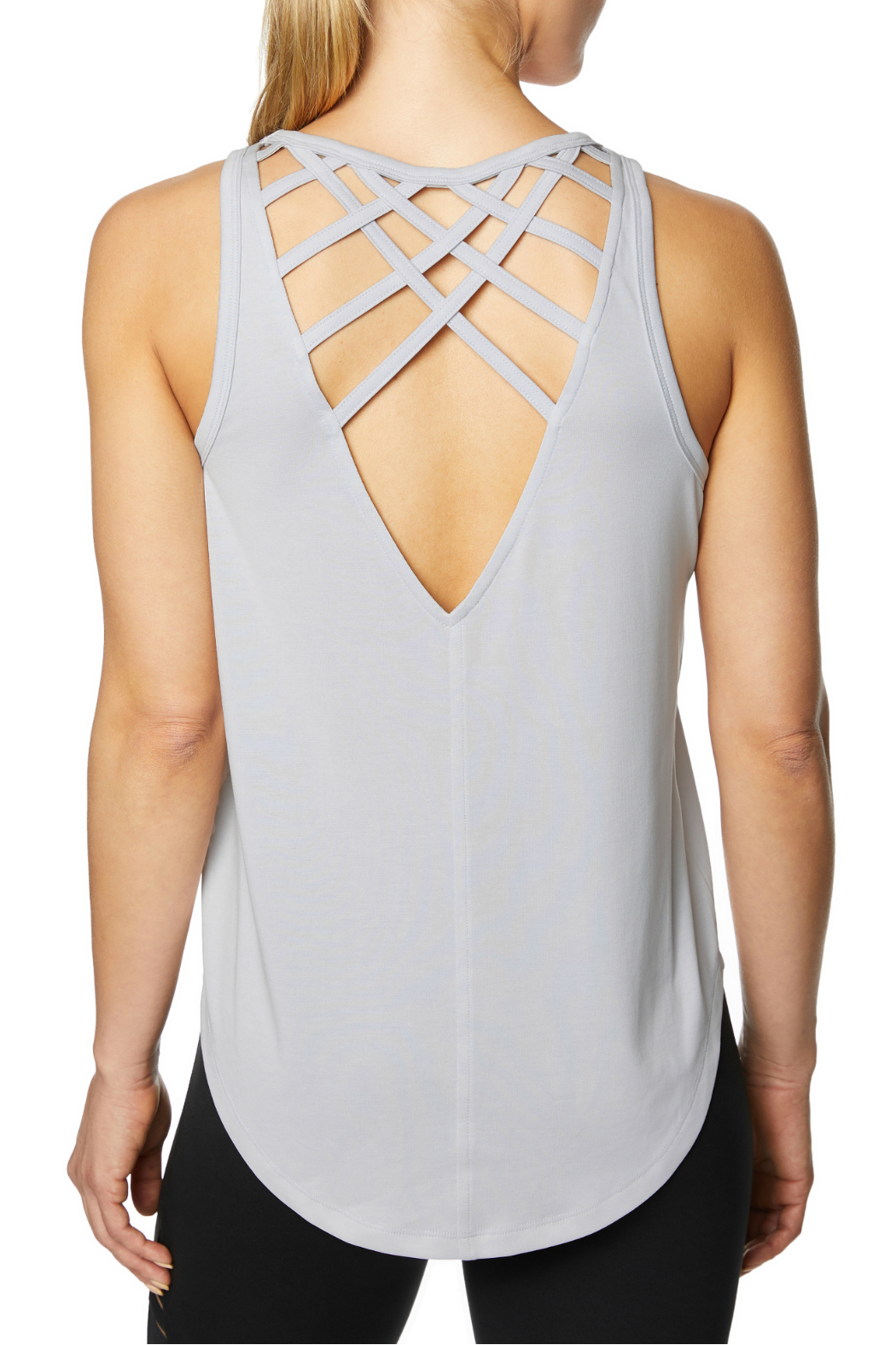 d30f7995eb3c3 Betsey Johnson Criss Cross Back Tank from New Jersey by Charlotte s ...