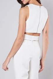 Do & Be Criss Cross Crop Top - Front full body