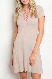 Favlux Criss Cross Dress - Front cropped