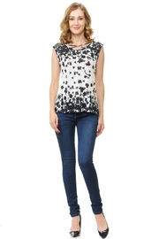 Cubism Criss-Cross Neck Top - Product Mini Image