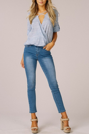 Listicle Criss Cross Style top - Product Mini Image