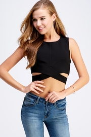 Do & Be Criss Cross Top - Front cropped