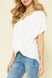 Promesa USA Criss Cross Top - Front cropped