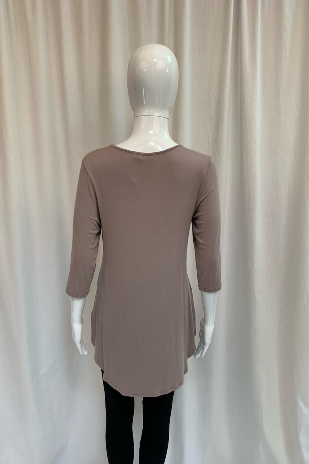 Chris and Carol Criss Cross Tunic - Side Cropped Image